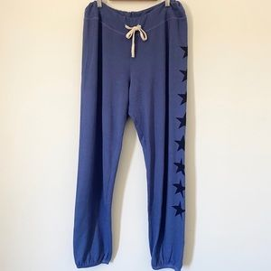 Sundry Star Blue Sweatpants